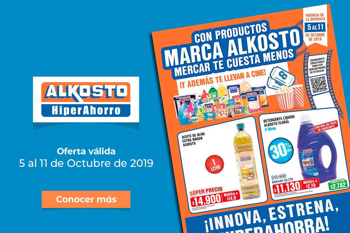 Ofertas Alkosto: 5 al 11 de Octubre de 2019