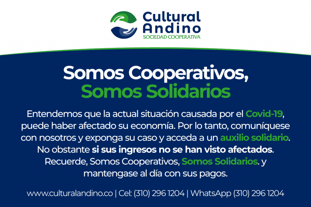 Somos Cooperativos Somos Solidarios