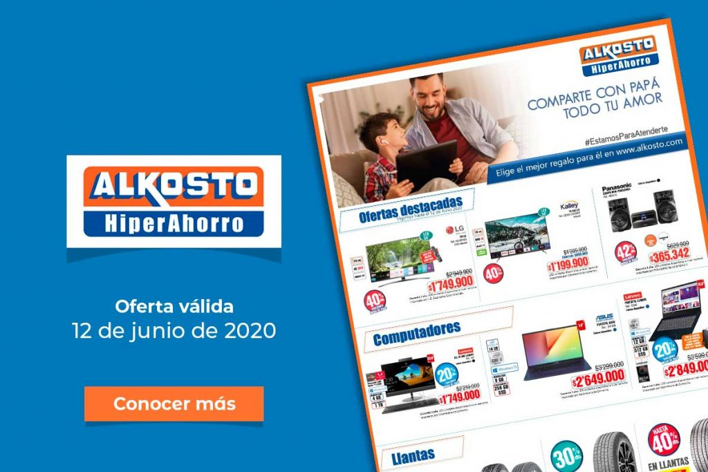 Ofertas Alkosto: 12 de junio de 2020