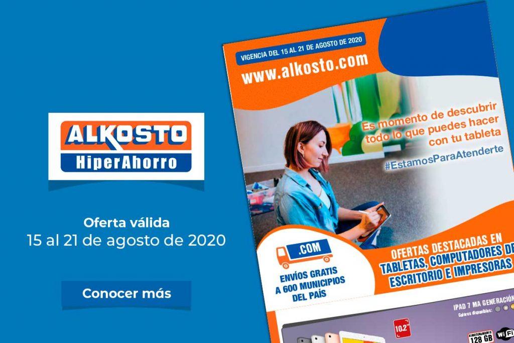 Productos Alkosto a través de Cultural Andino