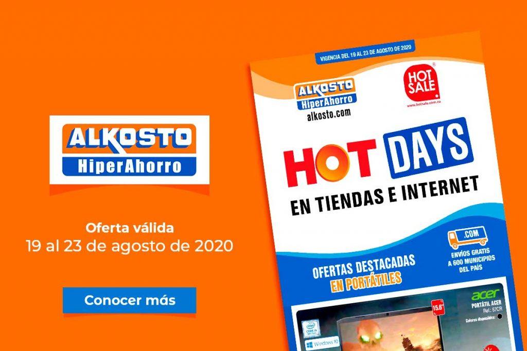 Ofertas Alkosto - HOT Days